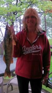Walleye fishing Hayward