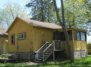 cabin on Moose Lake