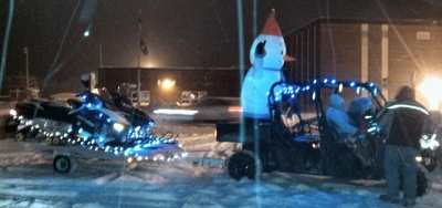 Snowman and Sleds!