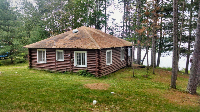 Cabins for sale in hayward wi sold log cabin for sale on for Cabins on lake michigan in wisconsin