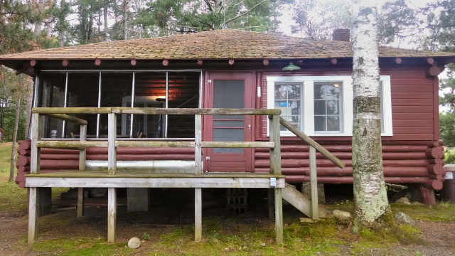 Sold Log Cabin For Sale On Chippewa Flowage Hayward Wi 195 000